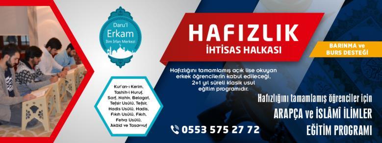 Darul Erkam Hafızlık İhtisas Halkası